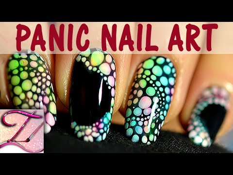Panic nail art tuto imprim de points color s en d grad facile et rapide youtube - Nail art facile et rapide ...