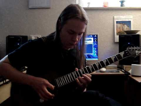 Steve Vai's For the love of God - played by Chris Frank