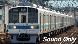 Repeat youtube video 【未更新時代】小田急1000形走行音【三菱GTO】