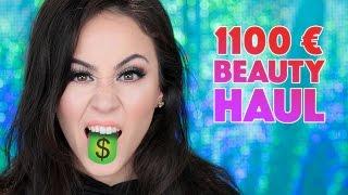 1100€ Beauty Haul 2017 deutsch | OMG CRAZY SHIT GOES ON 💶💶💶 | Hatice Schmidt
