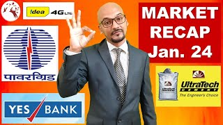 LATEST MARKET NEWS | IDEA Share | Yes Bank Share Price | Market Recap | Hindi