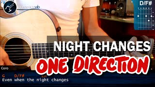 Baixar - Cómo Tocar Night Changes De One Direction En Guitarra Principiantes Hd Tutorial Christianvib Grátis