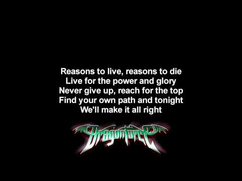 DragonForce - Power And Glory | Lyrics on screen | Full HD