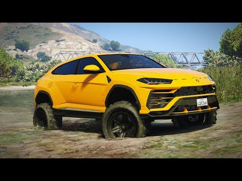 Luxury Off Roading Building The Off Road Spec Lambo Urus Gta 5 Pc