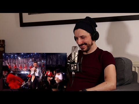 Vocal Coach Reaction - Hugh Jackman 'The Greatest Show' [Live at The BRITS 2019]
