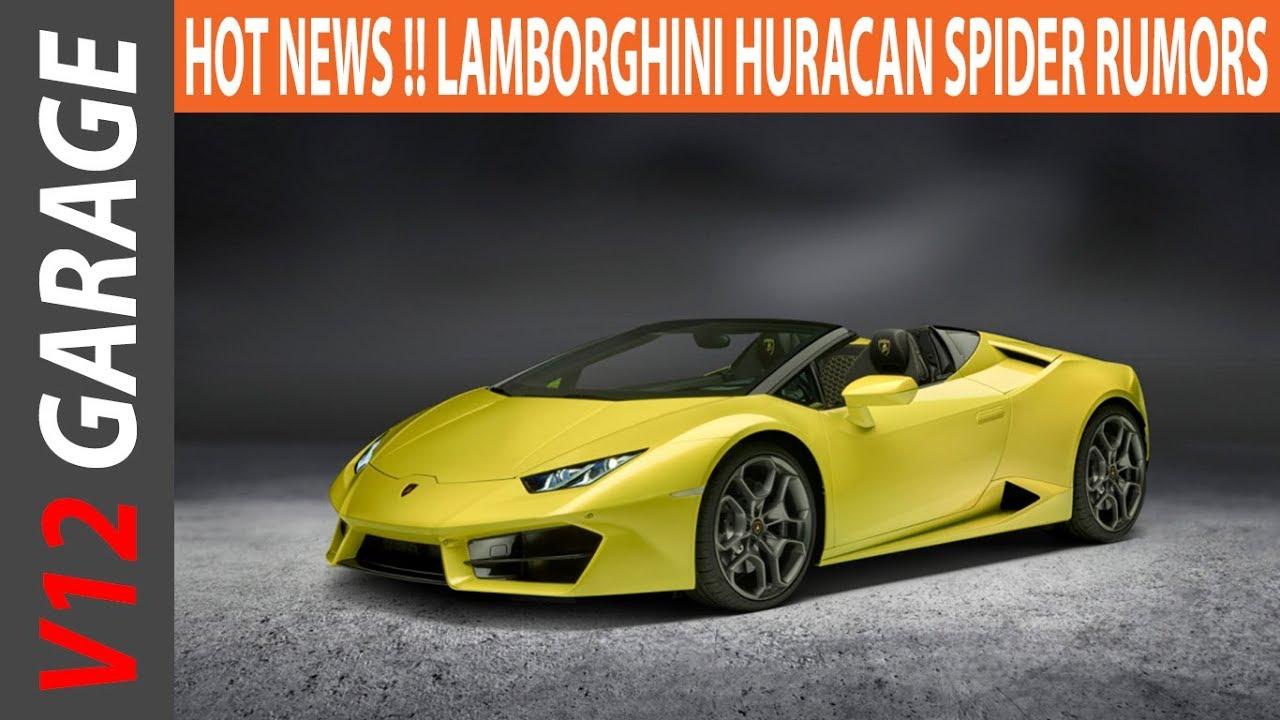 2020 Lamborghini Huracan Spyder Concept