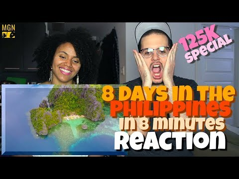 8 Days In The Philippines in 8 Minutes!!! | REACTION