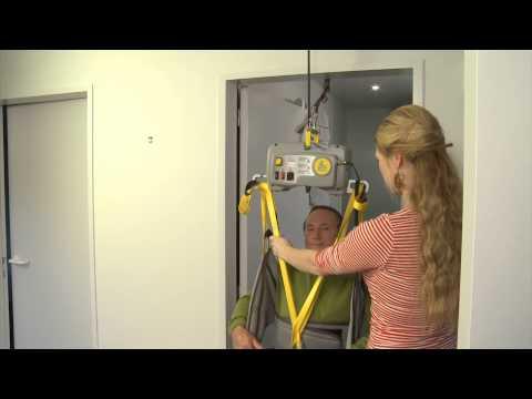 De Tarzan plafondmotor, de uitkomst voor het tillen door een deuropening.