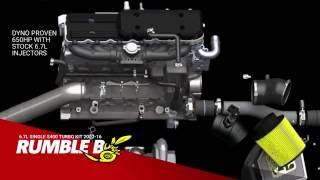 BD Diesel Rumble B Turbo Kits