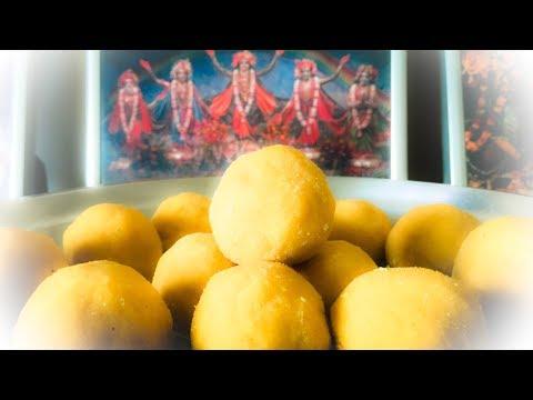 БЕСАН ЛАДДУ - лучший рецепт знаменитой индийской сладости из нутовой муки
