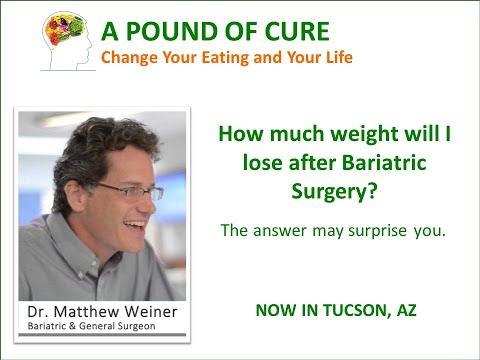 How much weight will I lose after Bariatric Surgery – The answer may surprise you