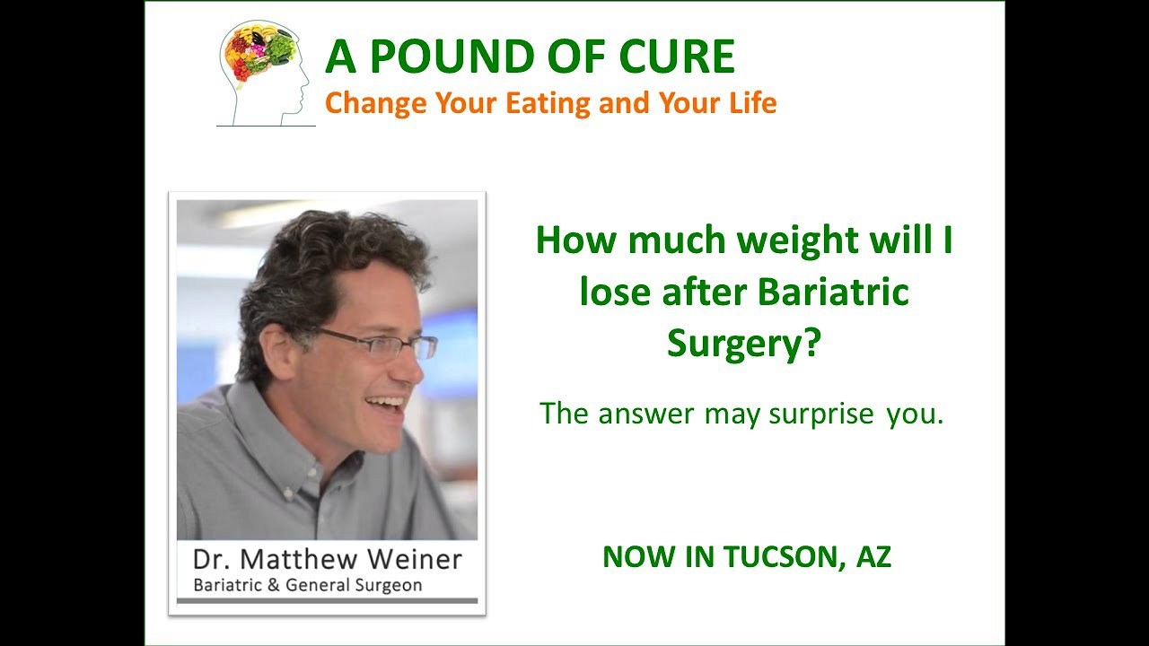 How Much Weight Will I Lose After Bariatric Surgery The Answer May