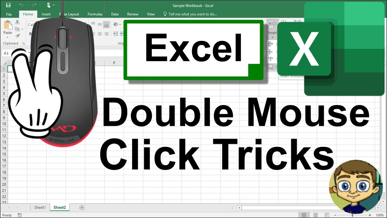 Excel Double Mouse Click Tricks