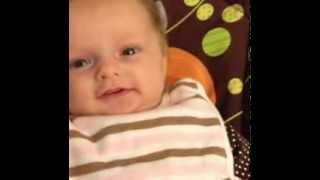 language development two months motherese cooing smiling turn taking eye contact