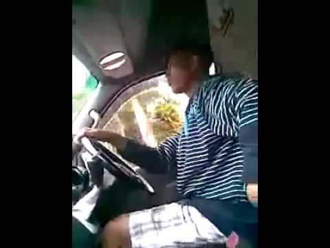 Ethekwini taxi driver dancing to house music  Shambeez Taxi Driver in Durban