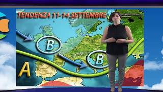 Meteo weekend 9-10 settembre 2017