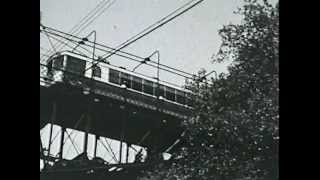 Rare Film Footage of the Mount Adams Incline, Cincinnati, Ohio