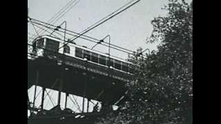 Rare Film Footage of the Mount Adams Incline, Cincinnati, Ohio