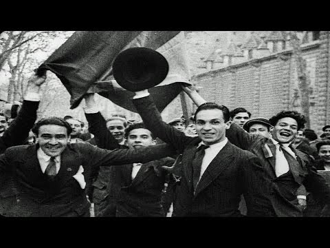 HD Historic Archival Stock Footage Delirious Crowds Acclaim Republic As King Abdicates Spain 1931