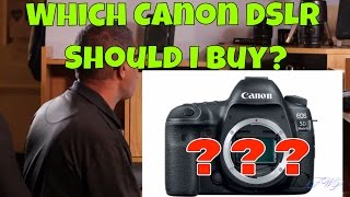 Which Canon DSLR Camera should…