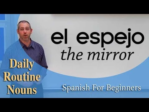 Daily Routine Nouns | Spanish For Beginners  (Ep.16)
