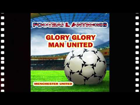 Manchester United Anthems - Karaoke Version - Glory Glory Man United - Football Anthems