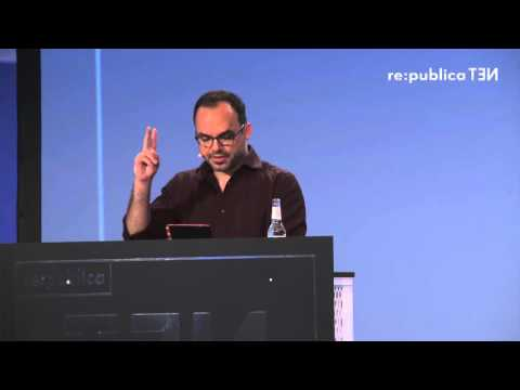 re:publica 2016 – Hossein Derakhshan: The post-Web Internet: Is this (the future of) television? on YouTube
