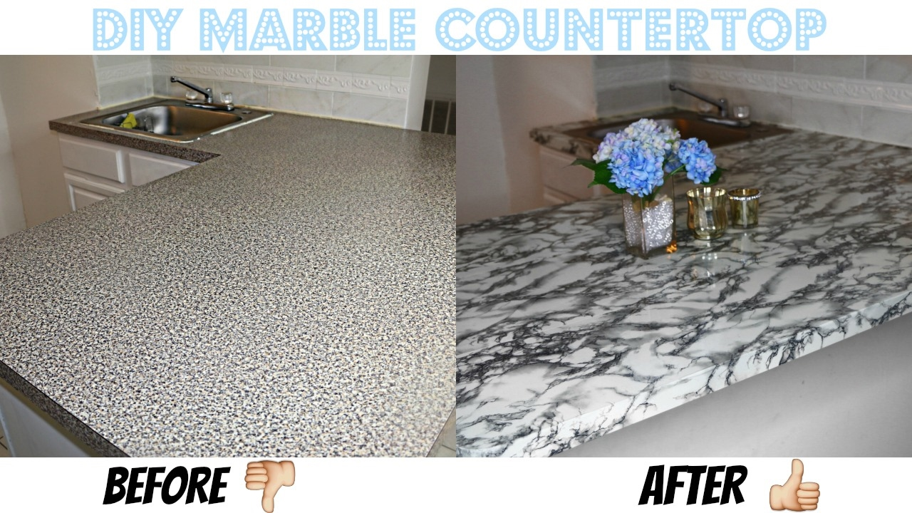 Easy Diy Marble Countertop Affordable
