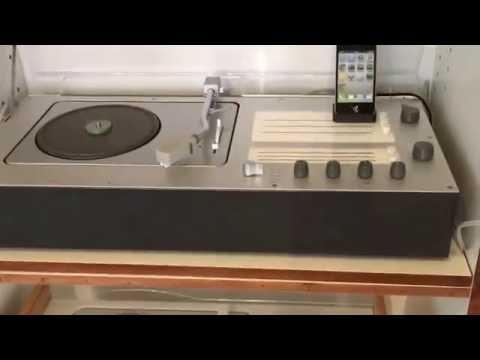 BRAUN AUDIO 1/M (Radio/LP/Smartphone) 1962, graphit-grau