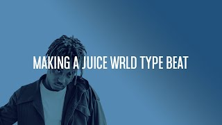 Making A Juice WRLD Death Race For Love Type Beat