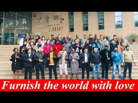 It's the belt and Road   Furnish the world with love