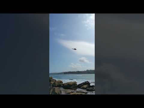 Rescue Helicopter Bondi Beach
