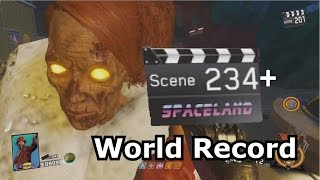 Round 234+ IW Zombies In Spaceland World Record PS4