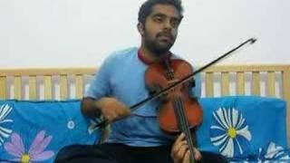Ami Je Tomar in Violin by Subramoni Rengarajan