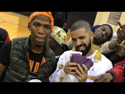 Drake Parties In Memphis With BlocBoy JB | Plays New Song Wit Project Pat Flow 🔥🔥🔥