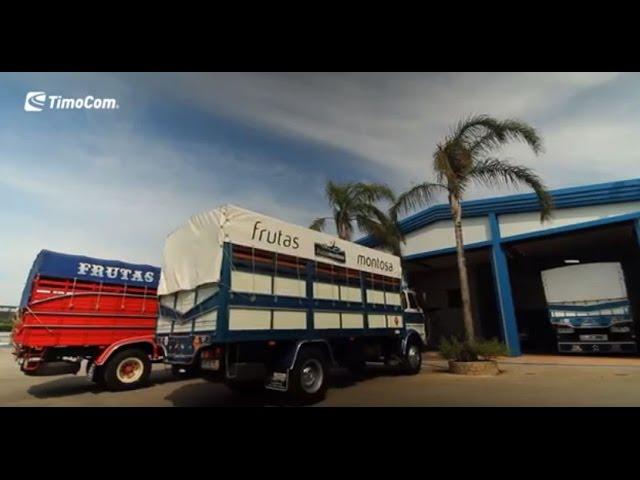 TimoCom - Frutas Montosa optimiza su gestión de transporte gracias a TimoCom