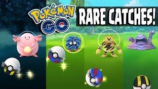 pokemon go   huge rare pokemon catching spree catching chansey tangela wartortle more