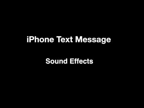 iPhone Text Message - Sounds Effects