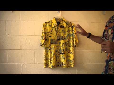 Land of Aloha Yellow Aloha Shirtランドオブアロハ イエロー アロハシャツ