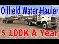 100k Year Hauling Texas Oilfield Water CDL Truckers | Red Viking Trucker