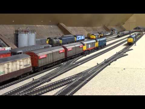 """British """"OO"""" gauge model railway (7)"""