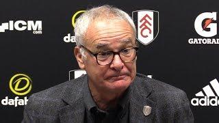 Claudio Ranieri Full Pre-Match Press Conference - Fulham v Southampton - Premier League
