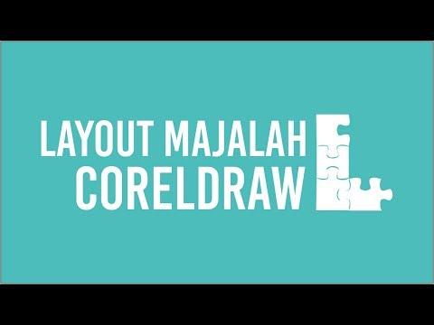 CorelDraw Tutorial - Cara membuat Layout Majalah