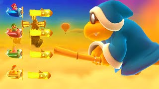 Mario Party 10   Minigames   Mario vs Luigi vs Peach vs Daisy