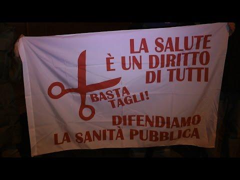 L'assessore alla sanità Antonio Saitta a Pinerolo, 18 dicembre 2014