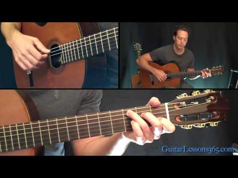 Danny Boy Guitar Lesson For Solo Guitar - Complete Song