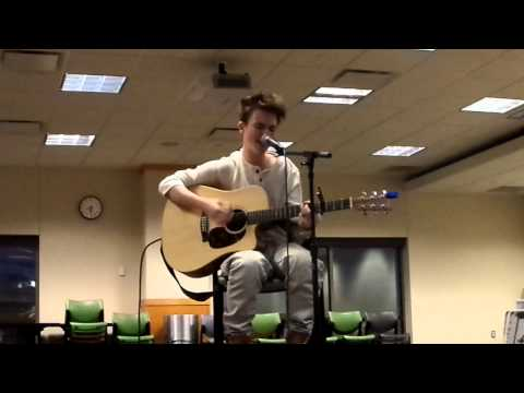 Dylan Holland singing Justin Bieber's Swap It Out.