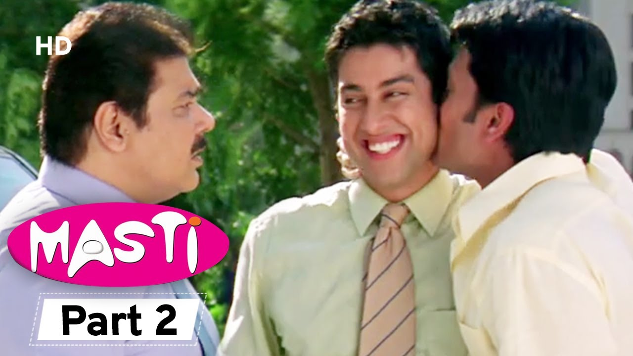 Masti  - Superhit Comedy Movie Part 2 - Vivek Oberoi - Aftab Shivdasani - Riteish Deshmukh#Comedy