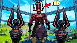 I Pretended to be GALACTUS in Fortnite