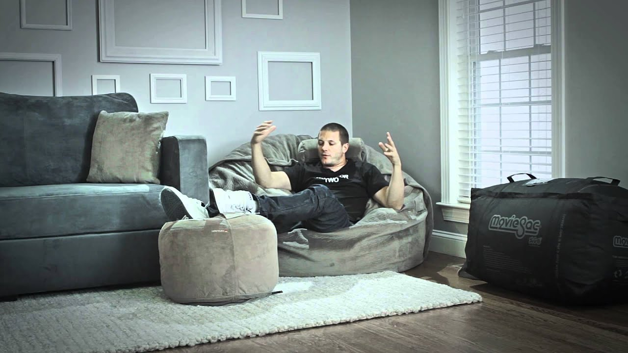 Lovesac Product Guide Moviesac Overview Youtube